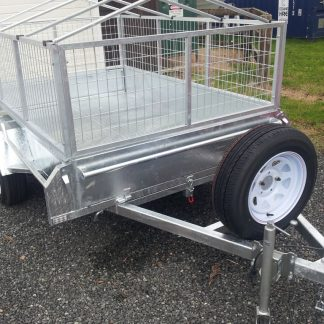 8ft x 5ft single axle trailer
