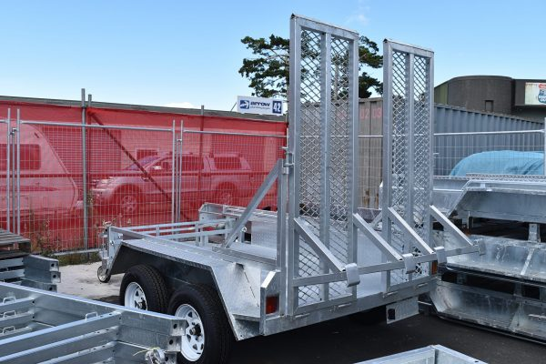 Single Axle Trailer 8ft x 5ft with Ramps