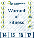 warrant of fitness