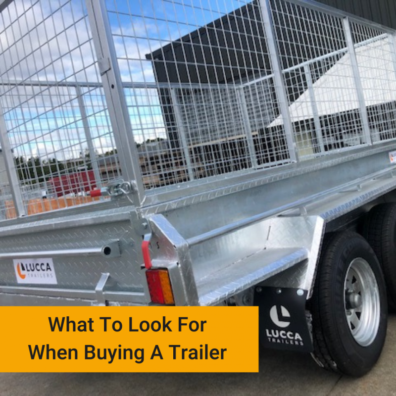 What To Look For When Buying A Trailer